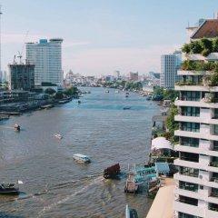 Отель Shangri-la Bangkok пляж