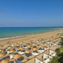 Yalihan Una Турция, Аланья - 1 отзыв об отеле, цены и фото номеров - забронировать отель Yalihan Una онлайн пляж фото 2