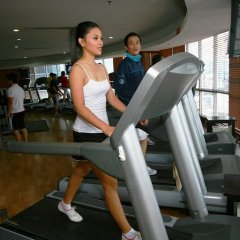 Crown Regency Hotel and Towers Cebu фитнесс-зал