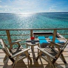 Отель Holiday Inn Resort Kandooma Maldives балкон
