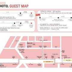 SEOUL N HOTEL Dongdaemun городской автобус