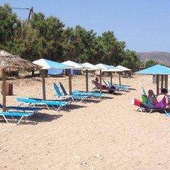 Mediterranean Hotel Apartments & Studios пляж фото 2