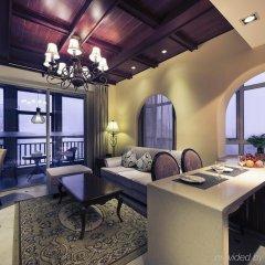 Отель Xiamen Yilai International Apartment Hotel Китай, Сямынь - отзывы, цены и фото номеров - забронировать отель Xiamen Yilai International Apartment Hotel онлайн комната для гостей фото 4