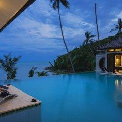 Отель Beach Front Luxury Villa Hai Leng Таиланд, пляж Панва - отзывы, цены и фото номеров - забронировать отель Beach Front Luxury Villa Hai Leng онлайн бассейн фото 3