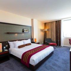 Отель Hilton London Canary Wharf комната для гостей