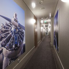 Glo Hotel Airport интерьер отеля фото 5