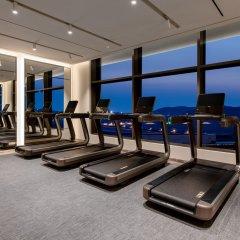 Отель Paradise City фитнесс-зал