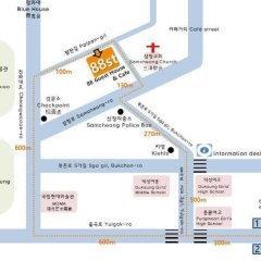 Отель 88st Guesthouse N Cafe Южная Корея, Сеул - отзывы, цены и фото номеров - забронировать отель 88st Guesthouse N Cafe онлайн городской автобус