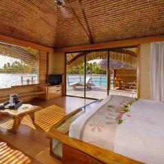 Отель Le Taha'a Island Resort & Spa комната для гостей фото 4