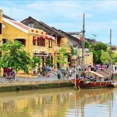 Отель Viet House Homestay Вьетнам, Хойан - отзывы, цены и фото номеров - забронировать отель Viet House Homestay онлайн приотельная территория фото 2