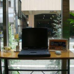 Отель Sun Business Hotel Япония, Хаката - отзывы, цены и фото номеров - забронировать отель Sun Business Hotel онлайн интерьер отеля
