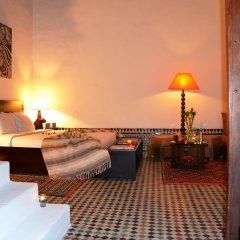 Отель Riad Azahra Марокко, Рабат - отзывы, цены и фото номеров - забронировать отель Riad Azahra онлайн комната для гостей