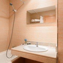 Отель Apartahotel Exe Campus San Mamés Испания, Леон - отзывы, цены и фото номеров - забронировать отель Apartahotel Exe Campus San Mamés онлайн ванная