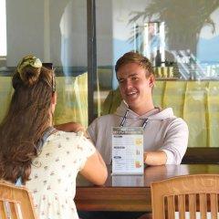 Отель Topaz Beach Шри-Ланка, Негомбо - отзывы, цены и фото номеров - забронировать отель Topaz Beach онлайн интерьер отеля фото 3