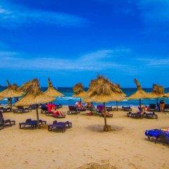 Отель Blue Orange Beach Resort пляж