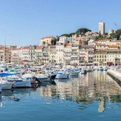 Отель Eden Hôtel & Spa Cannes Франция, Канны - отзывы, цены и фото номеров - забронировать отель Eden Hôtel & Spa Cannes онлайн приотельная территория фото 2