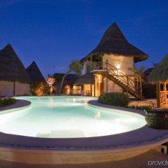 Отель Las Nubes de Holbox бассейн