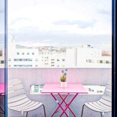 Отель Novotel Lyon Gerland Musée des Confluences балкон