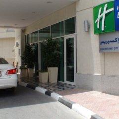 Отель Holiday Inn Express Dubai, Internet City парковка