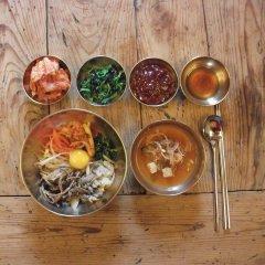 Отель Bukchon Sosunjae Южная Корея, Сеул - отзывы, цены и фото номеров - забронировать отель Bukchon Sosunjae онлайн питание