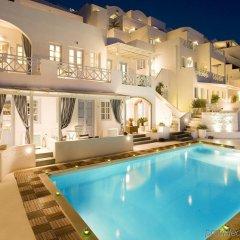 Отель Andromeda Villas Греция, Остров Санторини - 1 отзыв об отеле, цены и фото номеров - забронировать отель Andromeda Villas онлайн бассейн фото 3