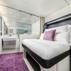Отель YOTELAIR Amsterdam Schiphol - Transit Hotel Нидерланды, Схипхол - отзывы, цены и фото номеров - забронировать отель YOTELAIR Amsterdam Schiphol - Transit Hotel онлайн комната для гостей фото 4