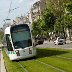 Отель ibis budget Paris Porte de Montreuil городской автобус