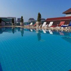 Отель Pattaya Blue Sky бассейн фото 3