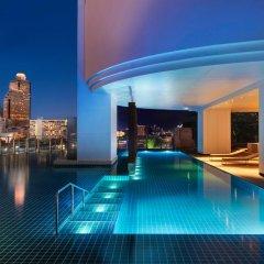 Отель Millennium Hilton Bangkok Бангкок бассейн