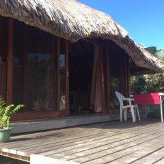 Отель Bungalow Manuka Французская Полинезия, Бора-Бора - отзывы, цены и фото номеров - забронировать отель Bungalow Manuka онлайн балкон