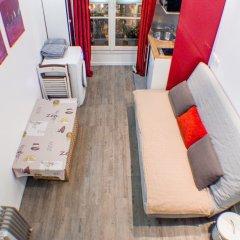 Апартаменты Studio Petit Pompidou Париж интерьер отеля