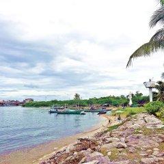 Отель Lawana Escape Beach Resort пляж