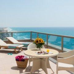 Leonardo Plaza Haifa Израиль, Хайфа - 2 отзыва об отеле, цены и фото номеров - забронировать отель Leonardo Plaza Haifa онлайн балкон