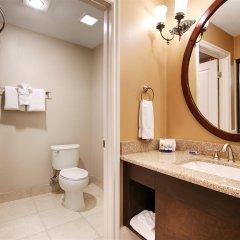 Отель Best Western Plus San Pedro Hotel & Suites США, Лос-Анджелес - отзывы, цены и фото номеров - забронировать отель Best Western Plus San Pedro Hotel & Suites онлайн ванная