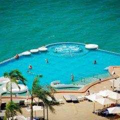 Отель Royal Cliff Beach Terrace Hotel Таиланд, Паттайя - отзывы, цены и фото номеров - забронировать отель Royal Cliff Beach Terrace Hotel онлайн пляж фото 2