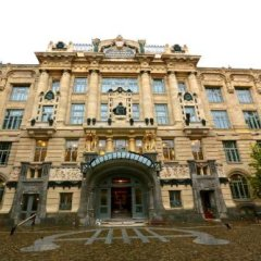 Unity Hostel Budapest Будапешт вид на фасад