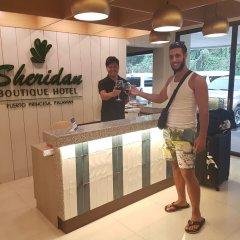 Отель Sheridan Boutique Hotel Филиппины, Пуэрто-Принцеса - отзывы, цены и фото номеров - забронировать отель Sheridan Boutique Hotel онлайн интерьер отеля