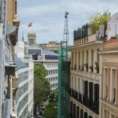 Отель Plaza Cibeles Madrid centro Испания, Мадрид - отзывы, цены и фото номеров - забронировать отель Plaza Cibeles Madrid centro онлайн балкон