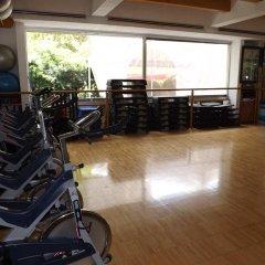 Отель Royal Pedregal Мехико фитнесс-зал