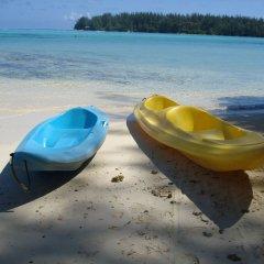 Отель Hibiscus Французская Полинезия, Муреа - отзывы, цены и фото номеров - забронировать отель Hibiscus онлайн пляж