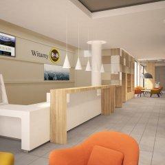 Отель B&B Hotel Lódz Centrum Польша, Лодзь - отзывы, цены и фото номеров - забронировать отель B&B Hotel Lódz Centrum онлайн интерьер отеля фото 2
