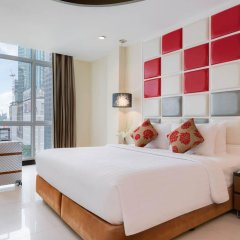Отель FuramaXclusive Asoke, Bangkok Таиланд, Бангкок - отзывы, цены и фото номеров - забронировать отель FuramaXclusive Asoke, Bangkok онлайн комната для гостей фото 4