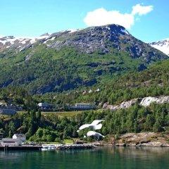 Отель Hellesylt Motel og hostel Норвегия, Странда - отзывы, цены и фото номеров - забронировать отель Hellesylt Motel og hostel онлайн приотельная территория
