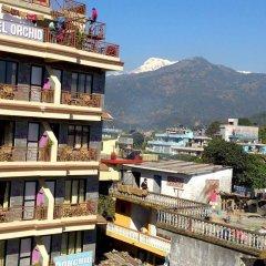 Отель Orchid Непал, Покхара - отзывы, цены и фото номеров - забронировать отель Orchid онлайн балкон