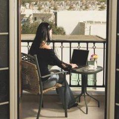 Отель Evanik Hotel Греция, Калимнос - отзывы, цены и фото номеров - забронировать отель Evanik Hotel онлайн балкон