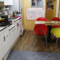 Yakorea Hostel Itaewon Сеул питание
