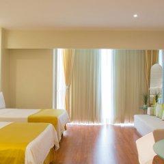 Отель Holiday Inn Express And Suites Mexico City At The Wtc Мехико комната для гостей фото 3