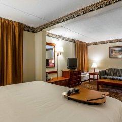 Отель Clarion Inn Chattanooga США, Чаттануга - отзывы, цены и фото номеров - забронировать отель Clarion Inn Chattanooga онлайн удобства в номере фото 2