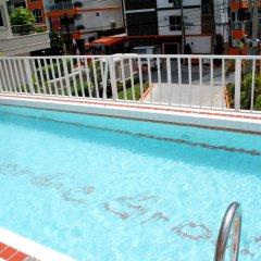 Апартаменты Sunset Apartments Паттайя бассейн