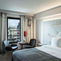 Отель Le Parisis Tour Eiffel Париж комната для гостей